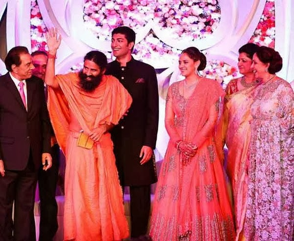 Baba Ramdev in Ahana marriage