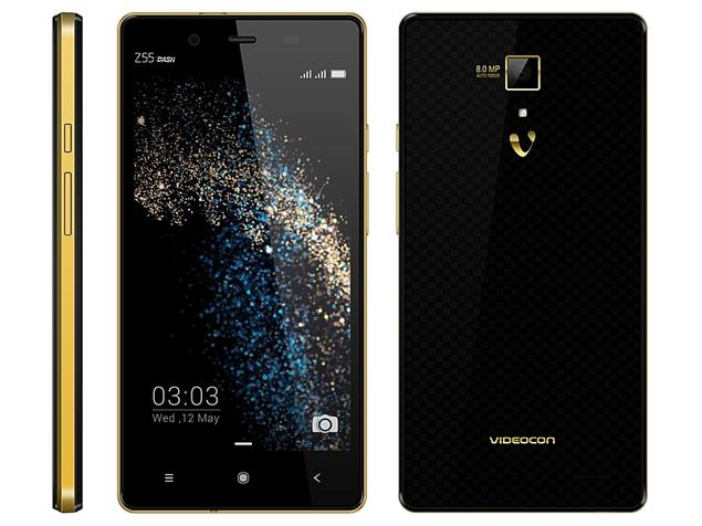 Videocon Z55 Dash Smartphone Launched Today