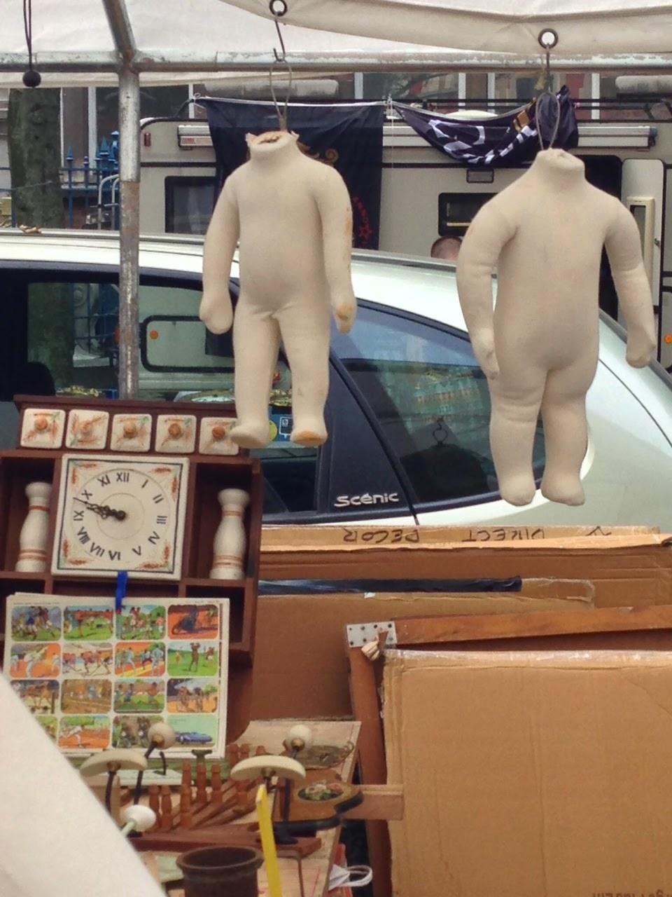 Lille antiqes market