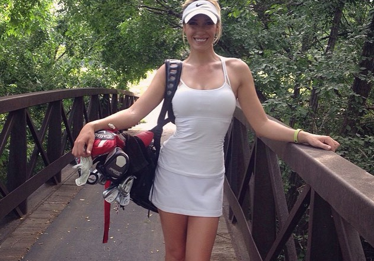 Cedar Posts and Barbed Wire Fences: Paige Spiranac Golf\'s Newest \