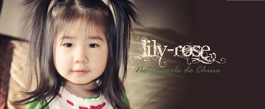 Lily-Rose, notre perle de Chine