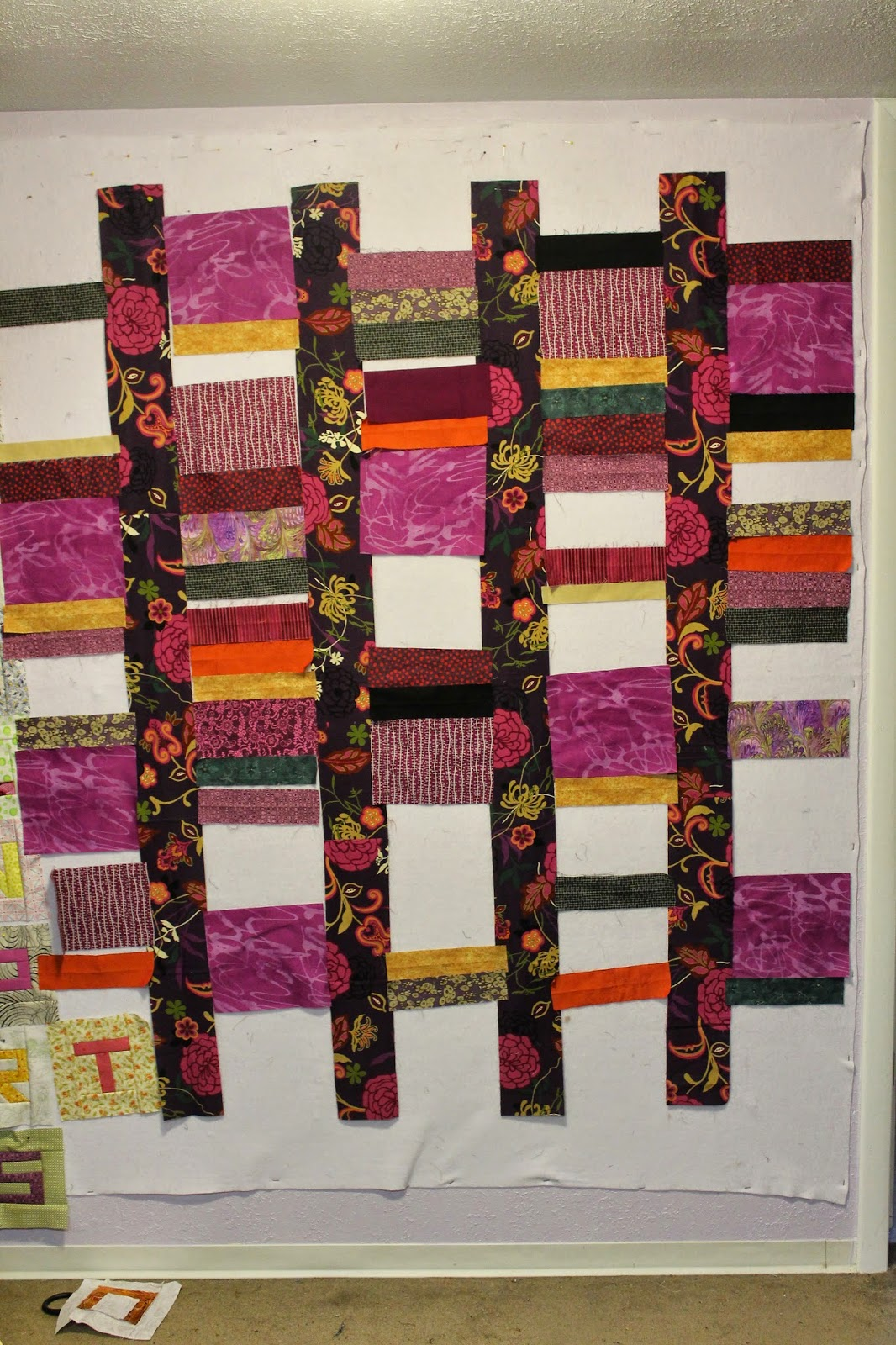 Quilting is more fun than Housework...: Scrap-A-Palooza! Quilt #12 ... : how wide is quilting fabric - Adamdwight.com