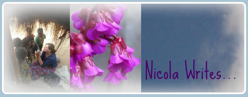 Nicola Writes...