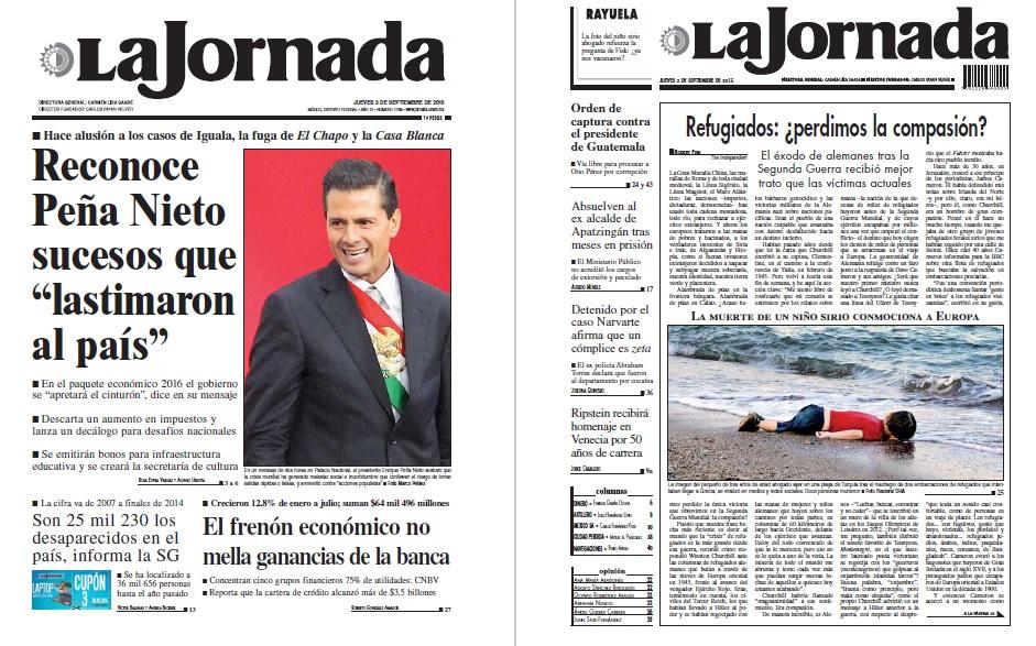 Noticias Guerrer S Sme Peri Dicos La Jornada Reconoce