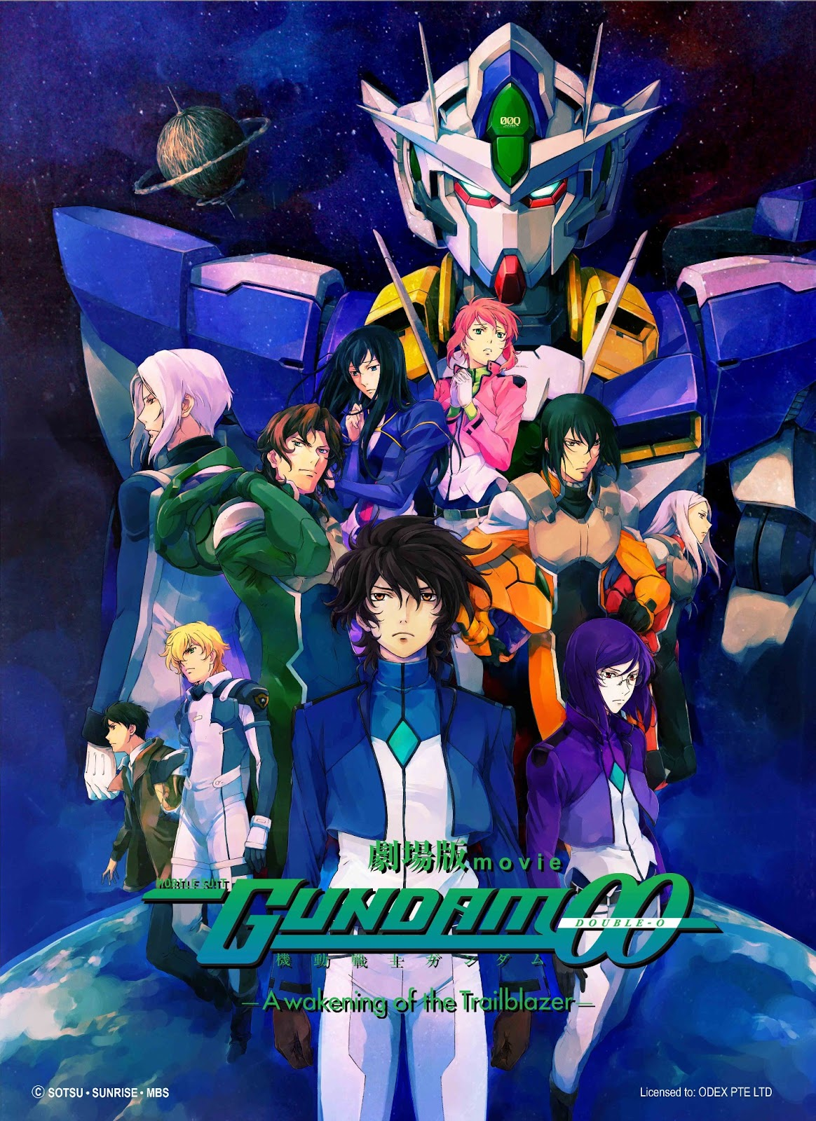 Gundam 00 awakening of the trailblazer ending