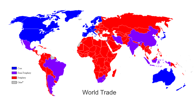 countries contributing to global trade