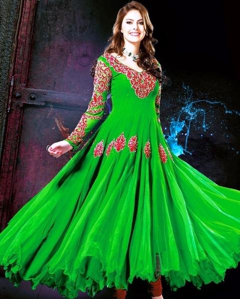 """""""Rakhi Special Designer Long Salwar Kameez"""