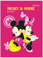 Jual Selimut Rosanna Soft Panel Blanket Mickye Minnie