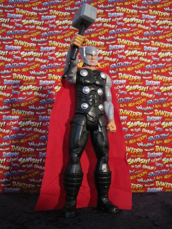 "Marvel 12"" Titan Heroes Avengers Action Figure: Thor."