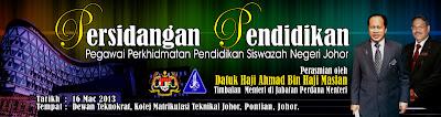 Persidangan Pendidikan Pegawai Perkhidmatan Pendidikan Siswazah Negeri Johor