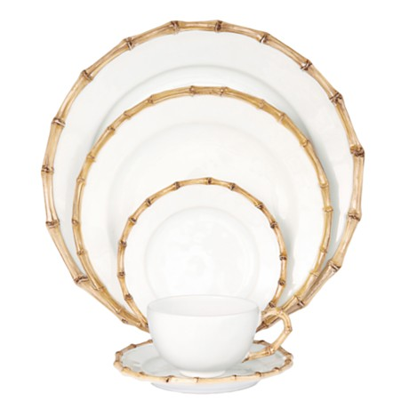 Juliska Classic Bamboo Dinnerware  sc 1 st  Luxe Report - Blogger & Luxe Report: The Look For Less: Bamboo Dishes