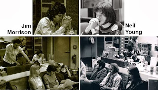 Neil Young, Jim Morrison 1967