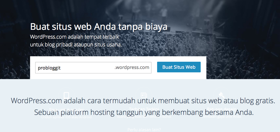 cara membuat website wordpress
