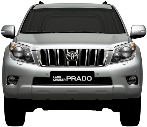 2010 Toyota Land Cruiser Prado facelift ~ Cars 2011 and technology 2011