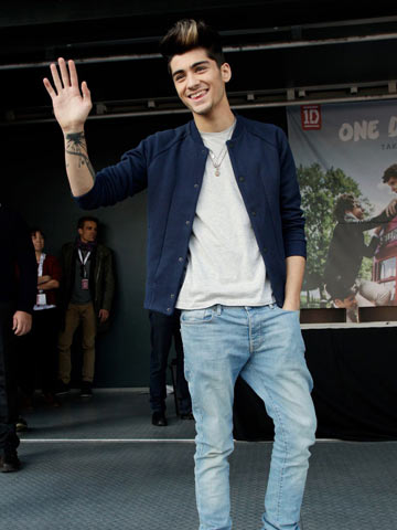Lennie Taylor Steal Celeb Style Zayn Malik Of One Direction