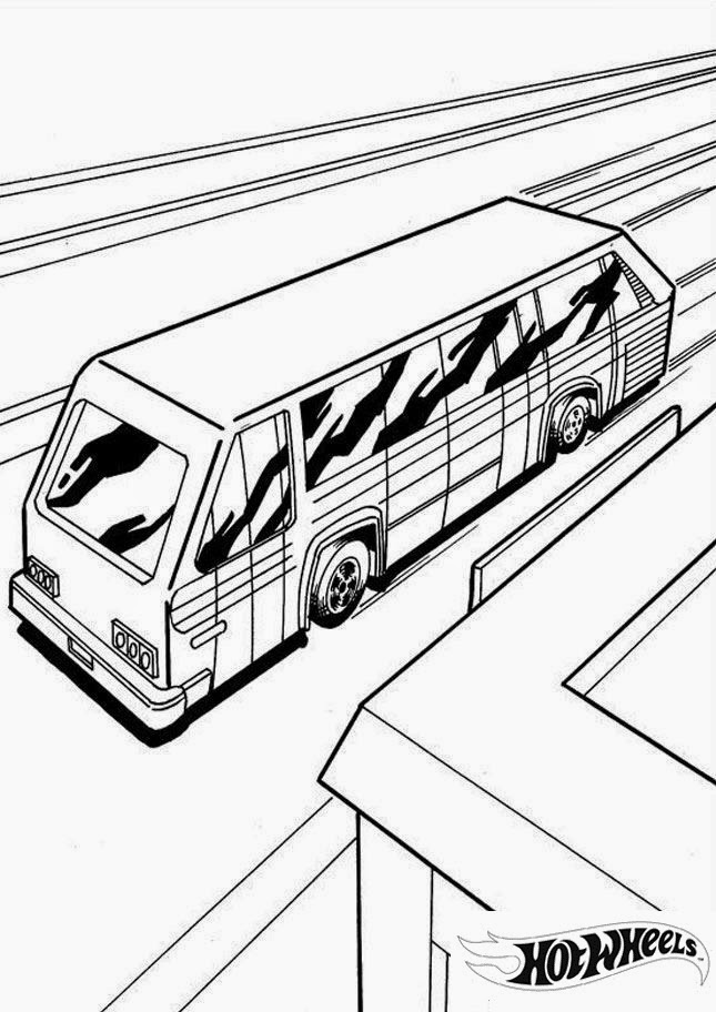 Hot Wheels Coloring Pages 15