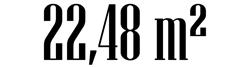 22,48 m²