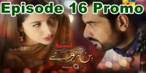 Bin Roye Episode 16 Promo on Hum Tv