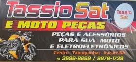 Tassio Sat e Moto Peças -- Rua do Comércio em Taboquinhas