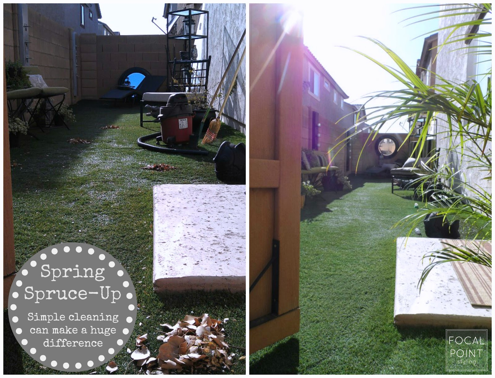 FOCAL POINT STYLING Rental ReStyle BudgetFriendly Backyard - Backyard design on a budget atlanta