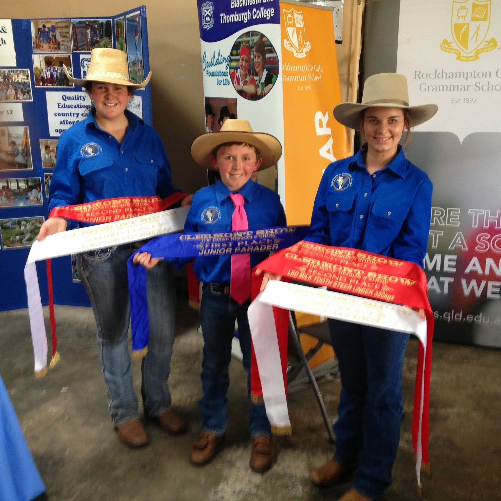 Cattle Club Success at Clermont Show