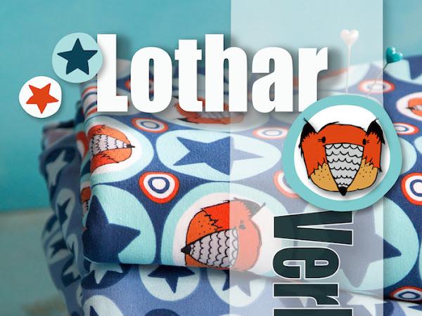 Gewinne 3x3 Meter Lothar + Lothar Stars orange/blue