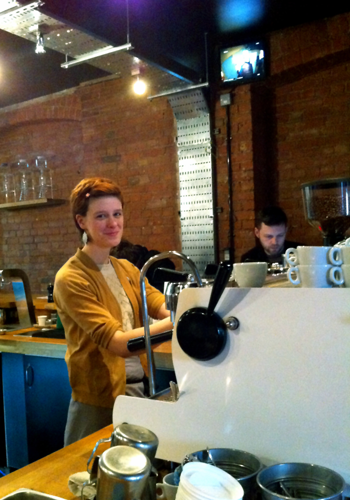Elyse Bouvier, The Workshop Coffee Co., London