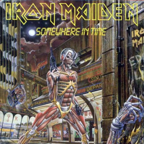 Idag är det 25 år sedan iron maiden släppte albumet somewhere in