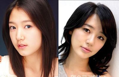 Park Shin Hye dan Yoon Eun Hye