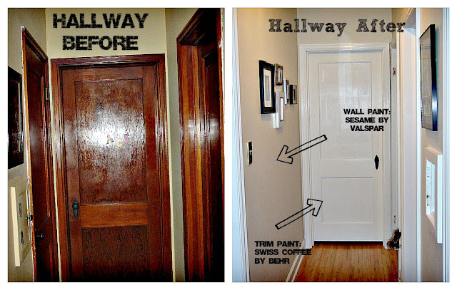 Elizabeth Hill Cottage Hallway