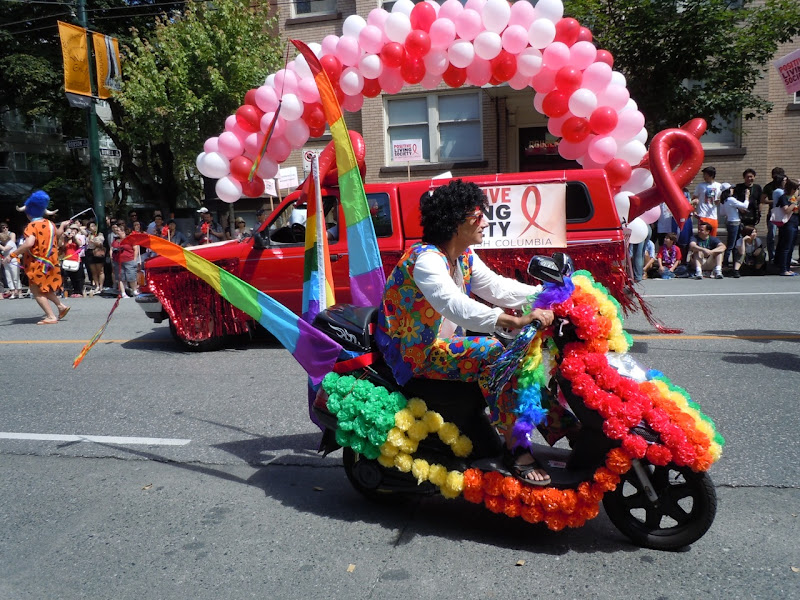 Vancouver Pride Parade flower power