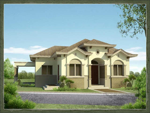 Kimora dream home design of lb lapuz architects builders for Classic house design philippines