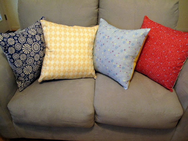 Love City Vacation Week Fat Quarter Pillow Covers
