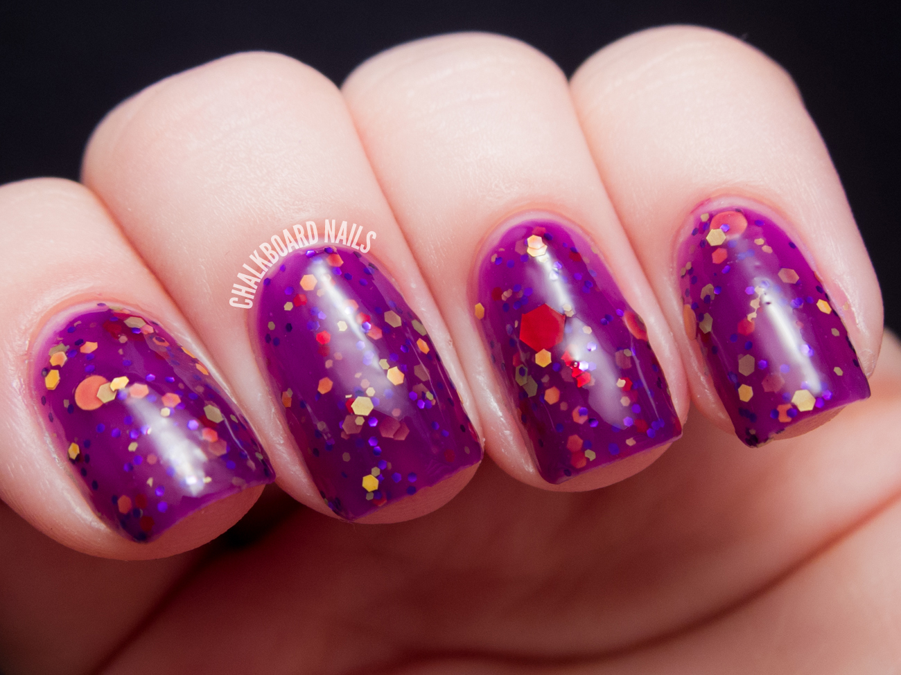 Happy Hands Nail Polish Are You Afraid of the Dark? Collection for ...