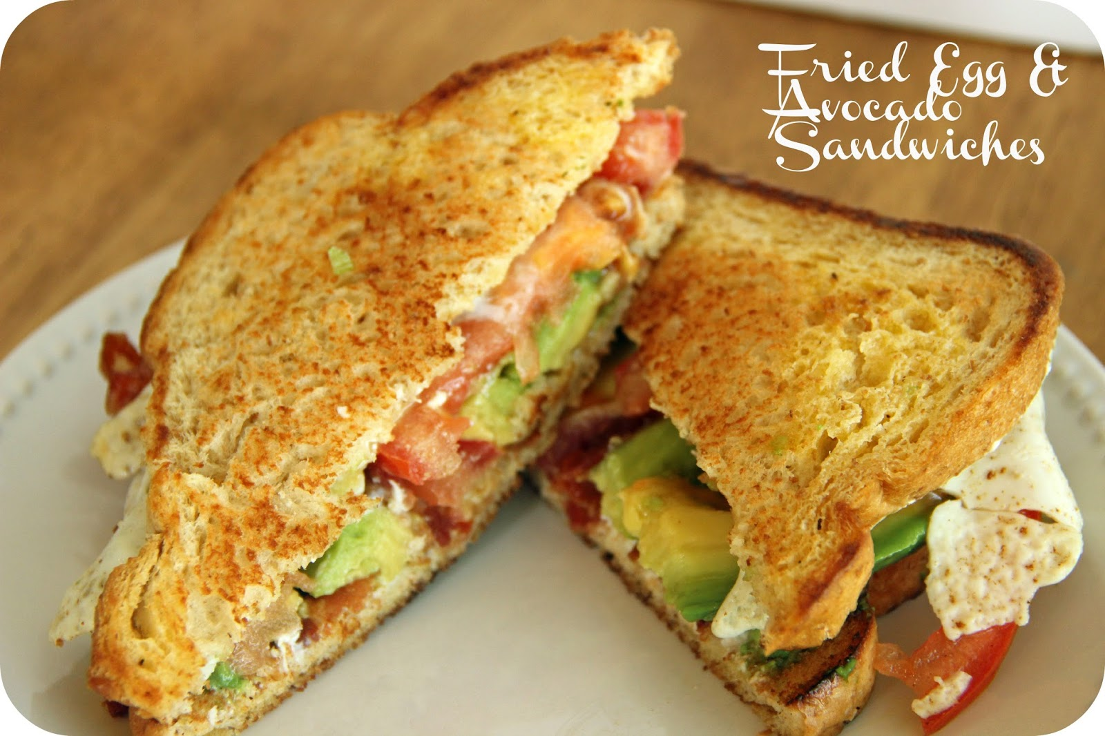 Egg-and-Avocado Sandwich Recipe — Dishmaps