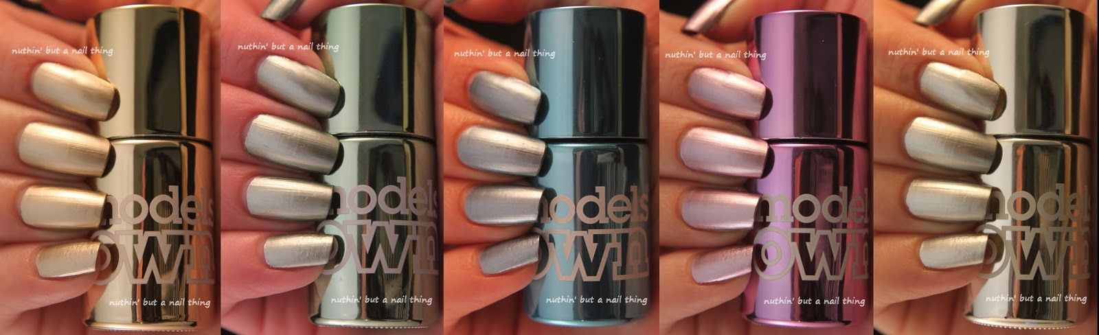 Models Own Chrome Full Collection Swatches