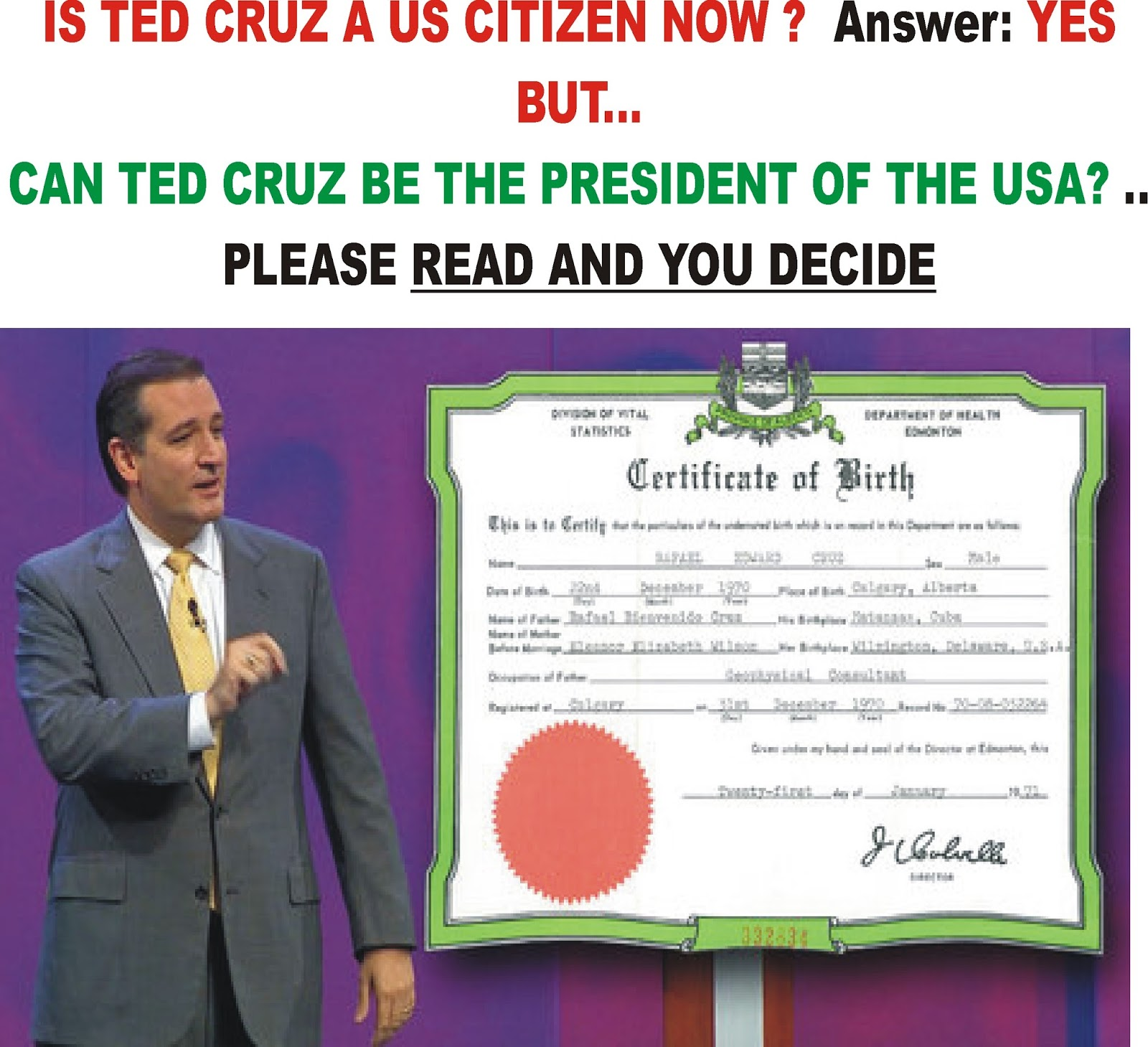 John Gaultiers Ferocious Conservative Bulletin Can Ted Cruz