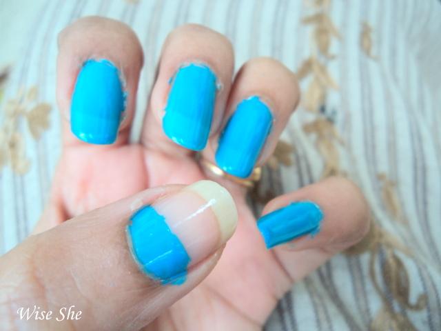 sky blue nails | nails
