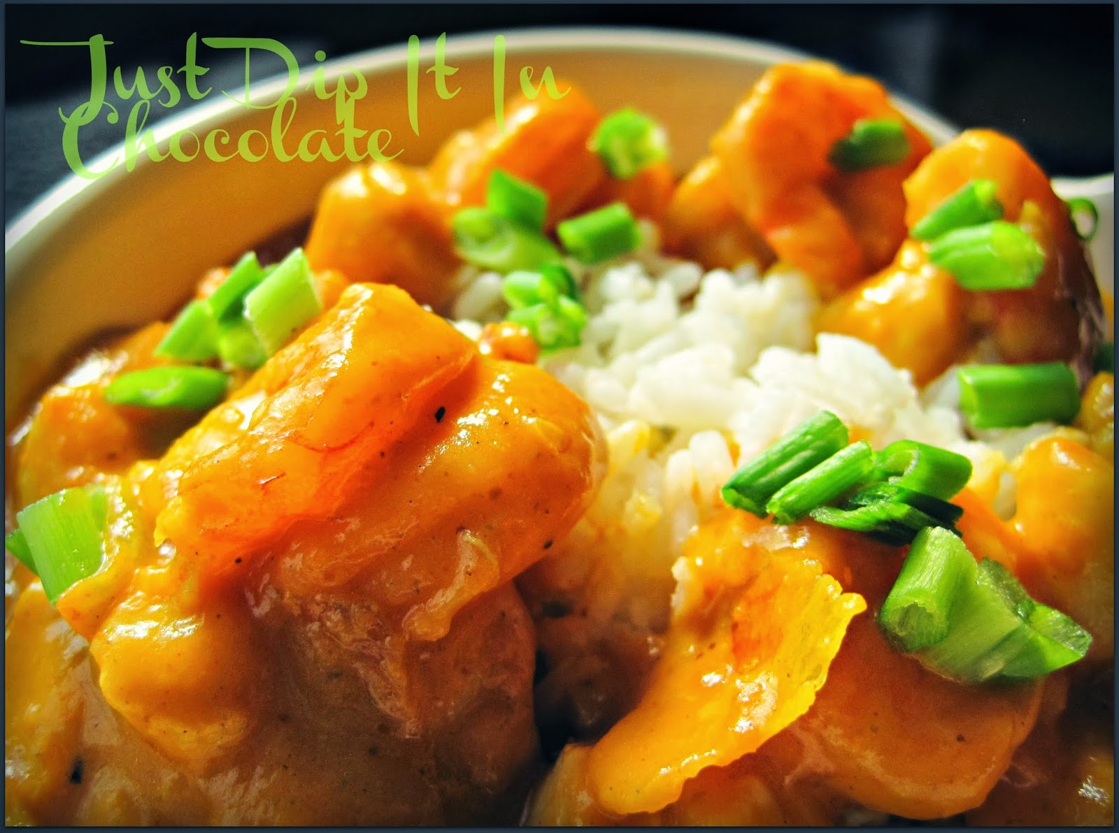 Just Dip It In Chocolate: Pumpkin Shrimp and Scallop Curry Recipe