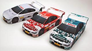 Car - Bosch Japan Christmas Papercraft