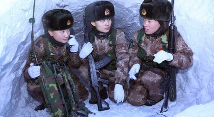 tentara wanita tiongkok