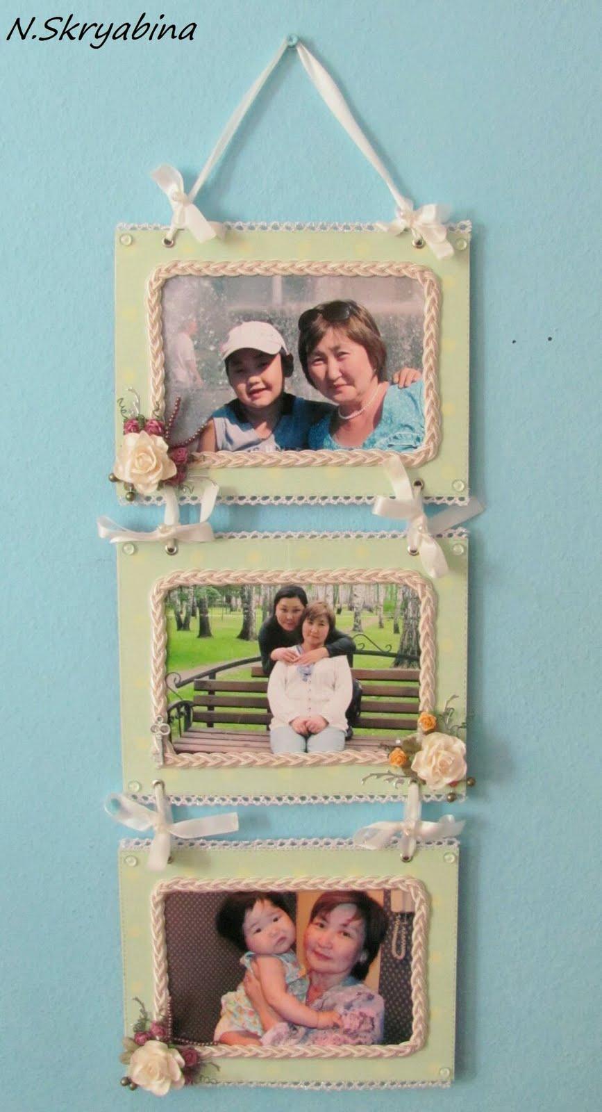 Рамки своими руками для больших фотографий на стену