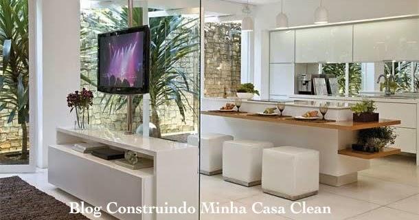 Construindo minha casa clean top 10 cozinhas modernas planejadas e lindas - Mundo armario ...
