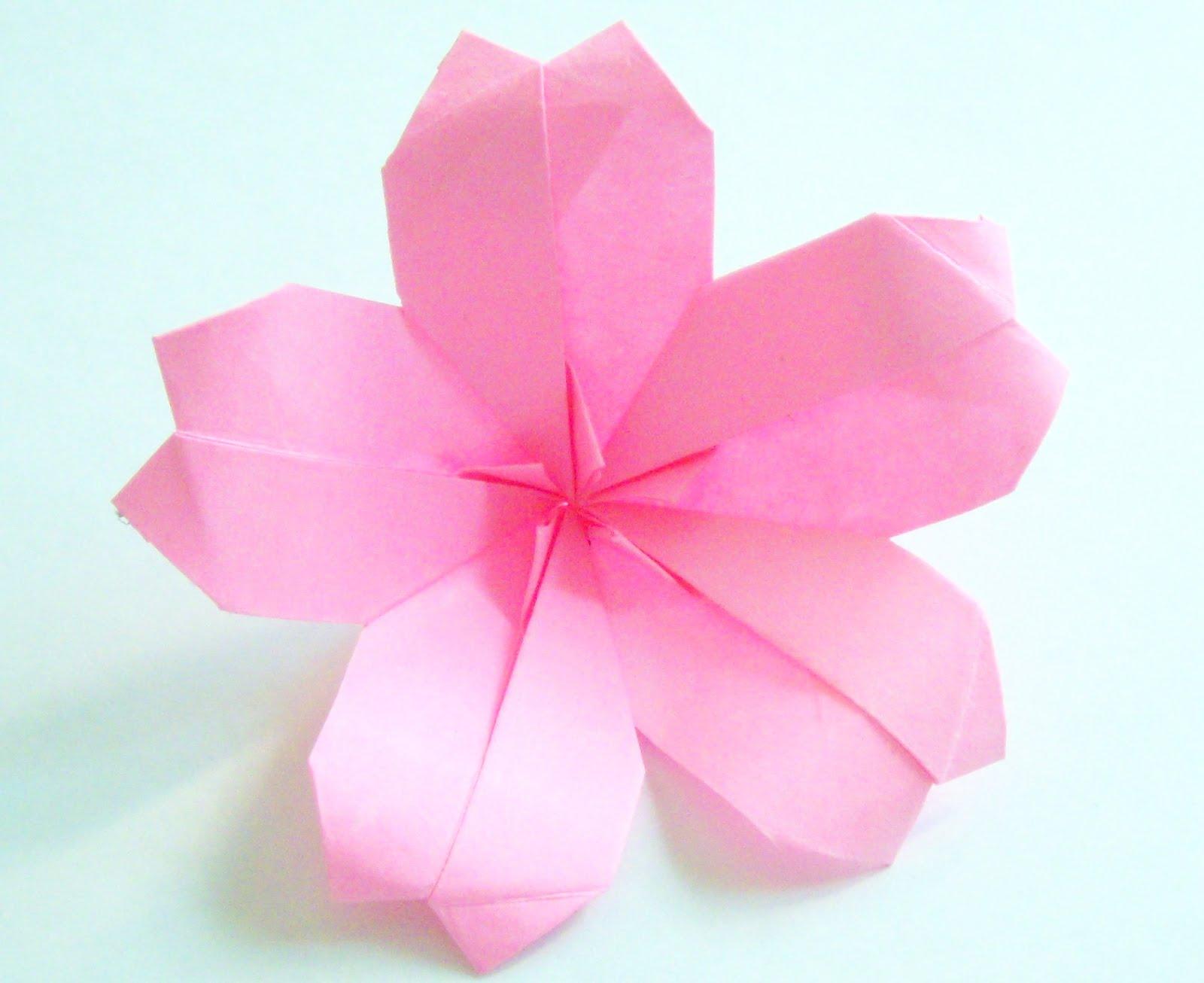 Origami origami cherry blossom - Origami origami origami ...