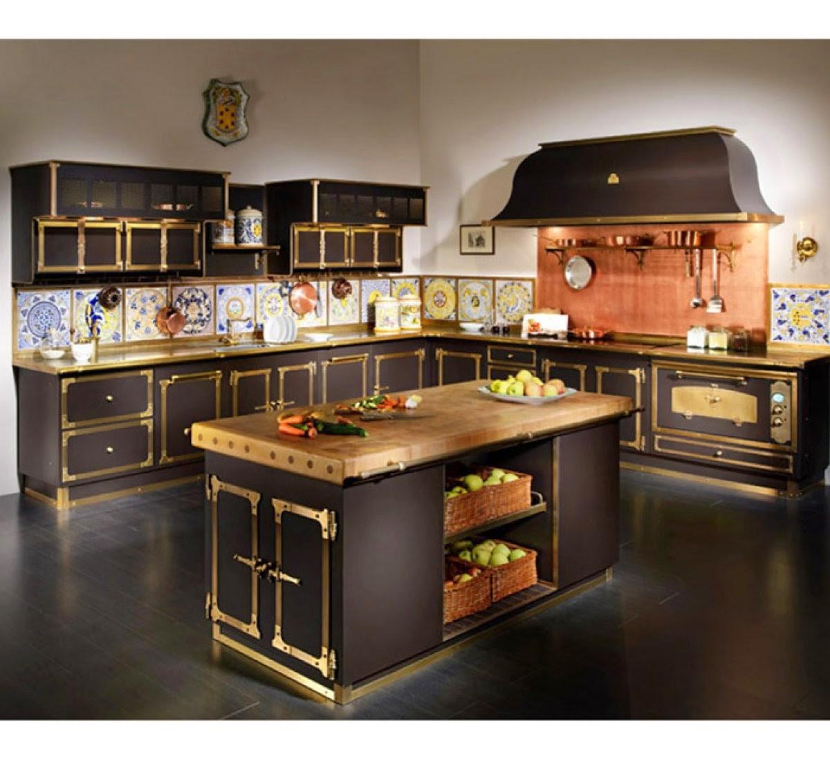 Muebles y decoraci n de interiores cocinas italianas for Cocinas completas