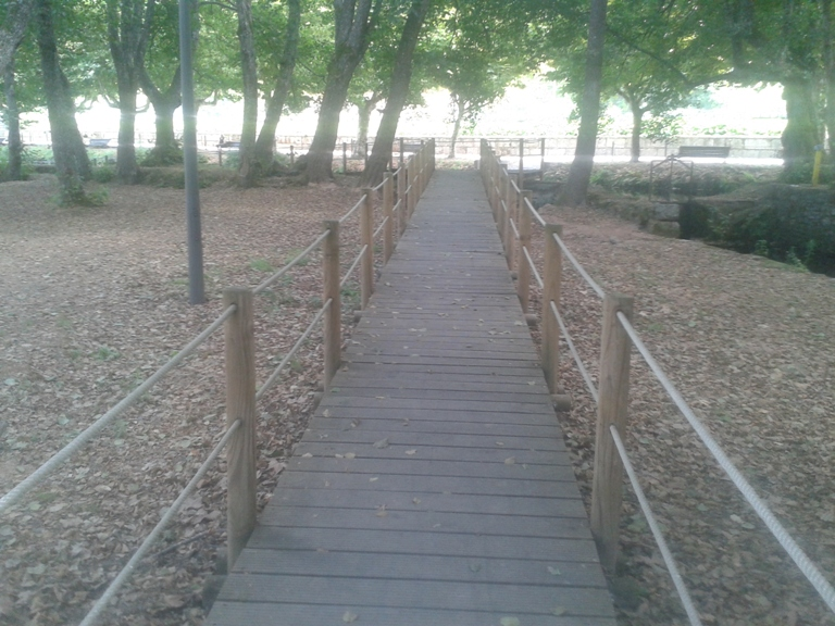 Percurso pedonal