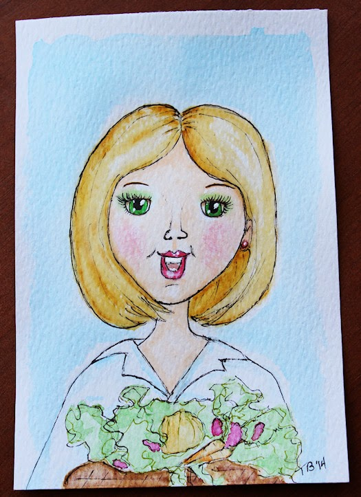 Market Girl by Tori Beveridge 2014