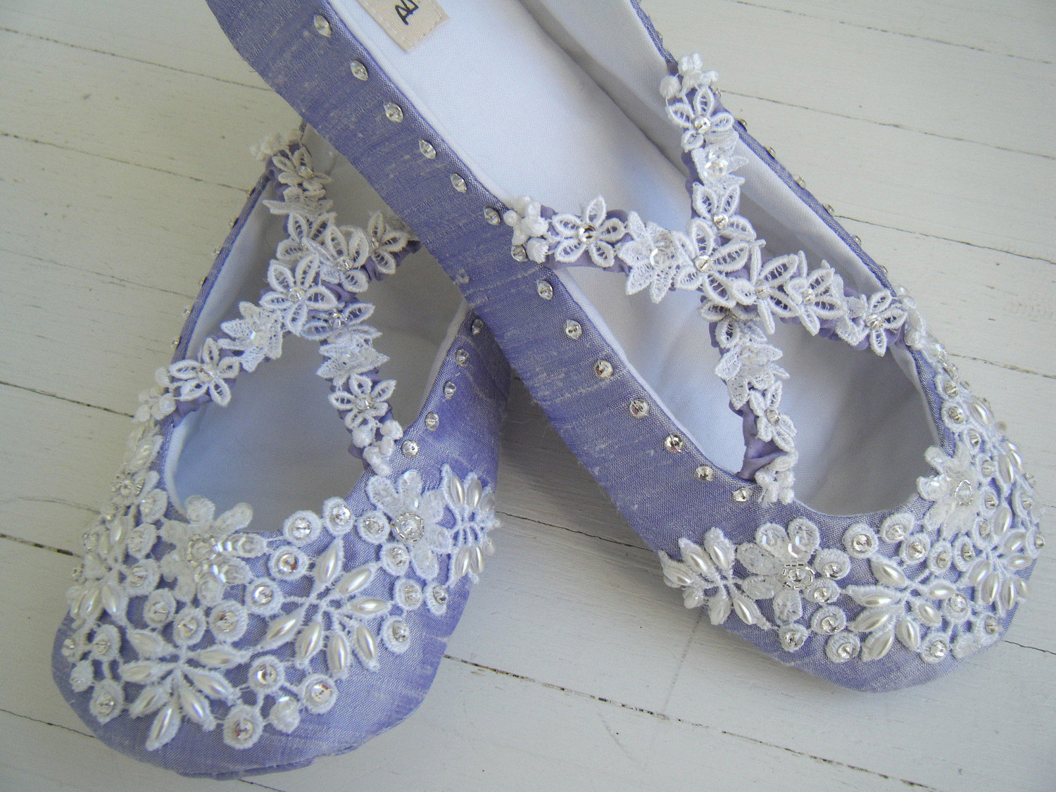 Top Flat Wedding Shoes with Bling 1500 x 1125 · 415 kB · jpeg