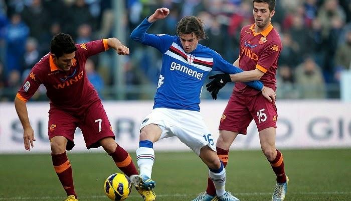 Roma vs Sampdoria en vivo
