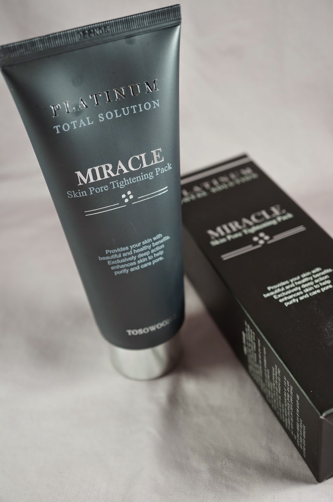 Memebox Special #42 OMG Unboxing Review Tosowoong Platinum Total Solution Miracle Skin Pore Tightening Pack
